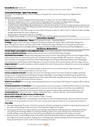 market manager resume
