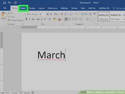 december 2015 calendar word doc how to make a calendar in word with pictures wikihow