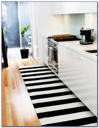 black and white striped rug 5 7