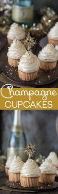 Try these yummy and easy champagne cupcakes this New Year's Eve. Topped  with a simple champagne frosting, this is one New Year's Eve dessert you  won't want ...