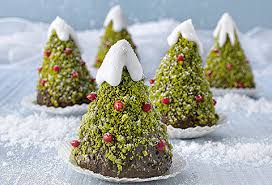 Chocolate christmas tree are not just delicious but also decorative!