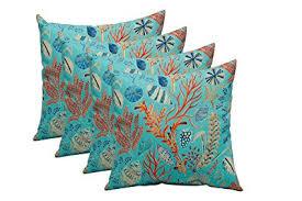 Peach Decorative Throw Pillows