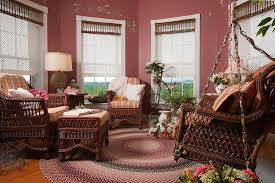 sunrooms colors. View In Gallery Octagonal Sunroom Full Of Color And Beautiful Blinds  [Design: Vintage House Design] Sunrooms Colors