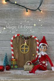 elf on the shelf arrival idea magic elf door