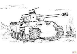 Small Picture Panther Tank coloring page Free Printable Coloring Pages
