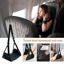 <b>Foot Rest Portable Travel</b> Footrest Hammock Carry Flight Leg Pillow ...