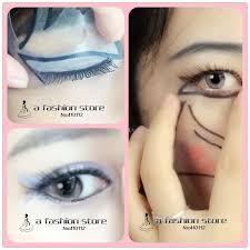 eyeliner stencil sticker resume 7 style in 1 set quick makeup cat smokey eyeshadow drawing