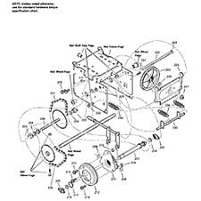 murray model 1695539 snowthrower, gas genuine parts Snow Blower Impeller Snow Blower Engine Diagram #27