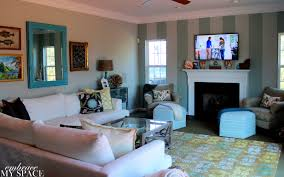 Interior  Wonderful Inspiration Teal Blue Living Room Ideas 18 Silver And Blue Living Room