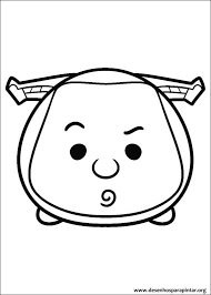 Disney Tsum Tsum Free Coloring Pages To Print Colorpagesorg