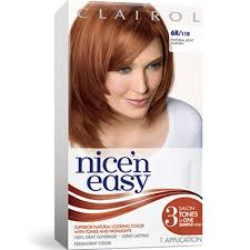 Light Auburn Hair Dye Permanent Red Hair Color Clairol Permanent Hair Color