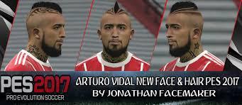 Pes 2017 Arturo Vidal Fc Bayern Munich New Face And Hair Pes Patch