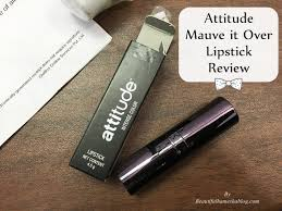 atude mauve it over lipstick review
