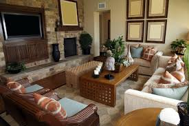 Two Sofa Living Room Design Two Sofas Double The Design
