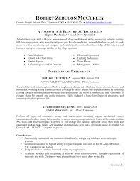 sample auto mechanic resume template resume sample information gallery of sample auto mechanic resume template