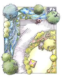 Small Picture Small Garden Design Drawings The Garden Inspirations