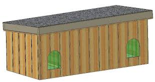 double dog house plans. Doghouse Plans, Plans Double Dog House