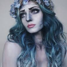 need makeup ideas for if you re thinking about being a corpse bride check out this makeup tutorial to see what haunting finishing touches you
