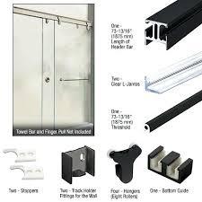 shower door kits sliding shower enclosure kits and components shower door frame kit