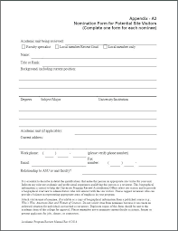 Award Nomination Letter Template 9 Teaching Employee Recognition