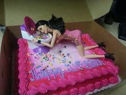 21st Birthday Cake Barbie Best 25 Drunk Barbie Cake Ideas On