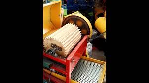 Peanut Peeling Machine Design Assembly Of The Peanut Shelling Machine