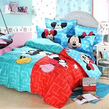 pretty mickey mouse and minnie mouse kissing bed set x0757636