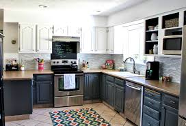 bathroomwinning kitchen cabinet colors before after the inspired room modern dark grey cabinets charcoal bathroomexquisite images kitchen lighting