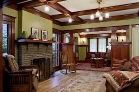 Craftsman Living Room Decorating Ideas