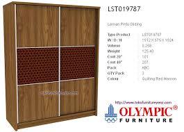 olympic furniture. Kamar Set Minimalis Olympic GARDENIA - Lemari Sliding Furniture E