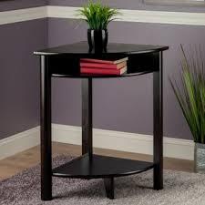 Corner tables furniture Round Liso End Table Wayfair Corner Table Wayfair