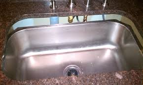 fixing that undermount sink that fell from under the granite