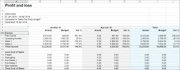 projected profit and loss month profit and loss projection excel template projected