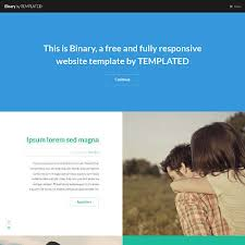 Simple Website Templates Custom TEMPLATED Free CSS HTML48 And Responsive Site Templates