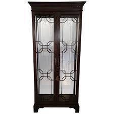 Jasper Curio Cabinet Viyet Designer Furniture Storage Jasper Dark Cherry Curio