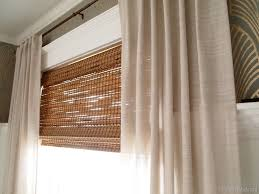 ... Brown Rectangle Contemporary Bamboo And Glass Lowes Outdoor Window  Shades Varnished Ideas: exciting