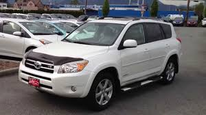 SOLD) 2007 White Toyota RAV4 Limited V6 # 14105A For Sale Here At ...