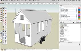 Tiny House Design Software Skechup 20 Foot Tiny House Shell Drawing Tinyhousedesign