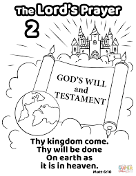 Thy Kingdom Come Thy Will Be Done On Earth As It Is In Heaven