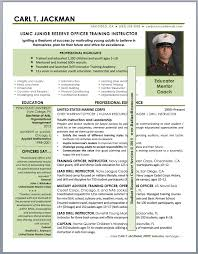 Military Resumes Examples Classy Resume Samples