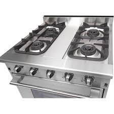 NXR Professional 30-Inch 4-Burner Natural Gas Range - DRGB3001 : BBQ Guys