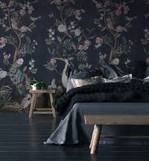 black wallpapers to make a bold statement