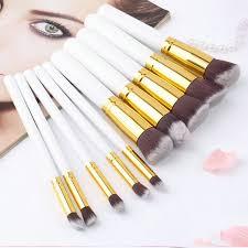 10 pcs set professional cosmetics makeup brushes powder foundation blusher brush soft high quality make up