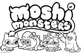 Monster Coloring Pages Cookie Monster Coloring Pages Preschool Free