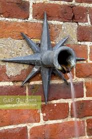 wall mounted water feature with spout silverstone farm norfolk