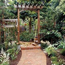Small Picture Build a Traditional Entry Arbor Arbors Gardens and Backyard