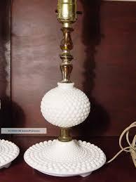 white milk glass lamp base design ideas
