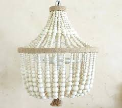 wood bead chandelier the daily buzz pottery barn kids dahlia chandelier wood bead chandelier australia