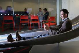 google slide in office. office slide james avery tries out the 20ft indoor which takes workers at google in
