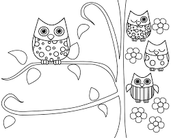 Small Picture Free Printable Owl Coloring Pages Within glumme
